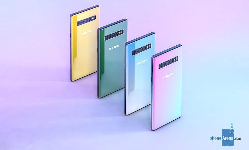 Render Samsung Galaxy Note 10