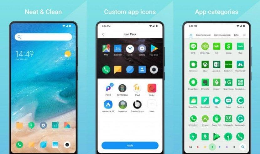 Launcher Mint, el nuevo lanzador de Xiaomi