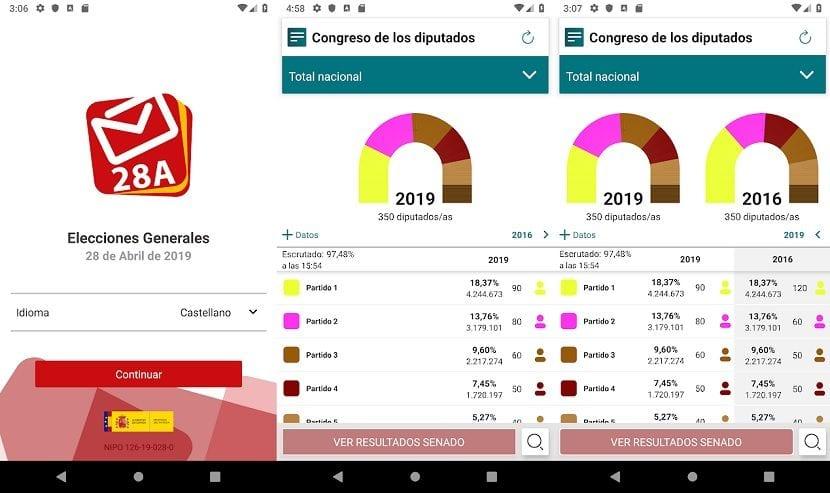 Elecciones generales app