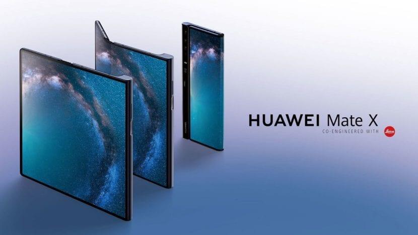 Huawei lanzará primero 100.000 unidades del Huawei Mate X