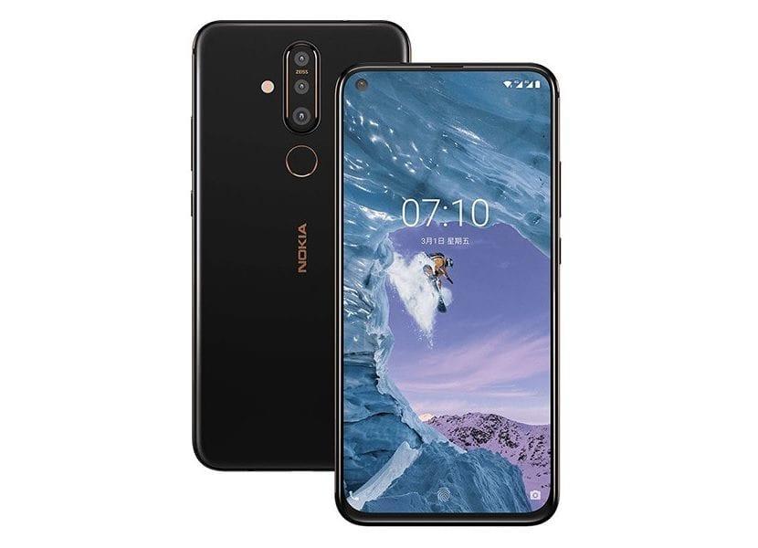 Nokia X71 Diseño