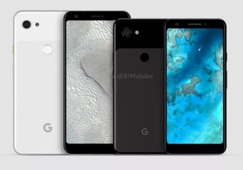 Pixel 3a y 3a XL