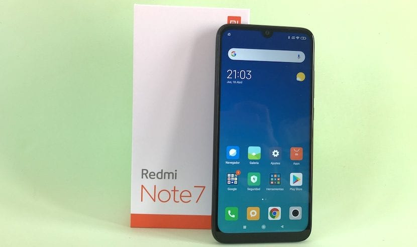 Redmi Note 7 portada