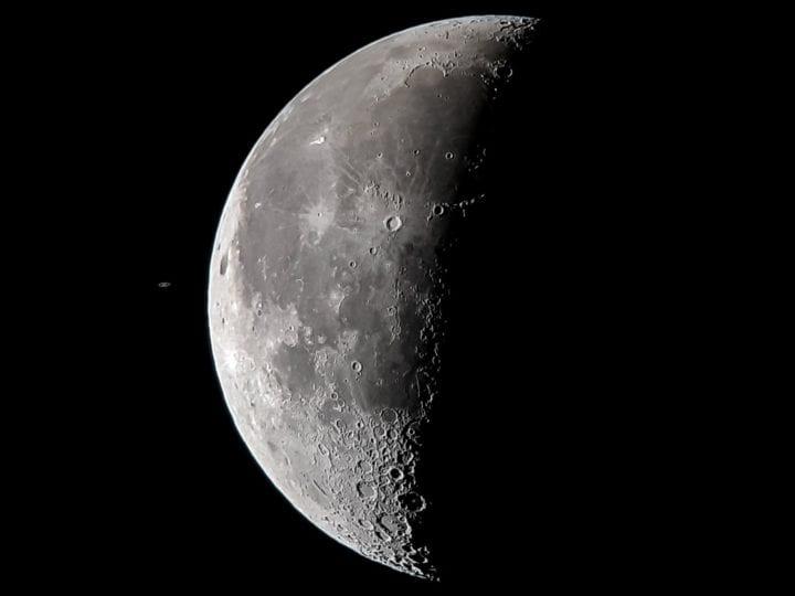 foto de la Luna con el Samsung Galaxy S8