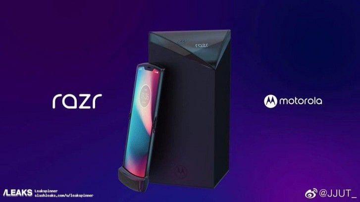 Teléfono plegable de Motorola