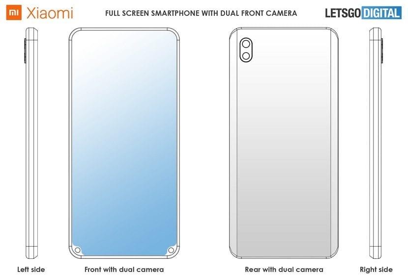 Xiaomi patente notch