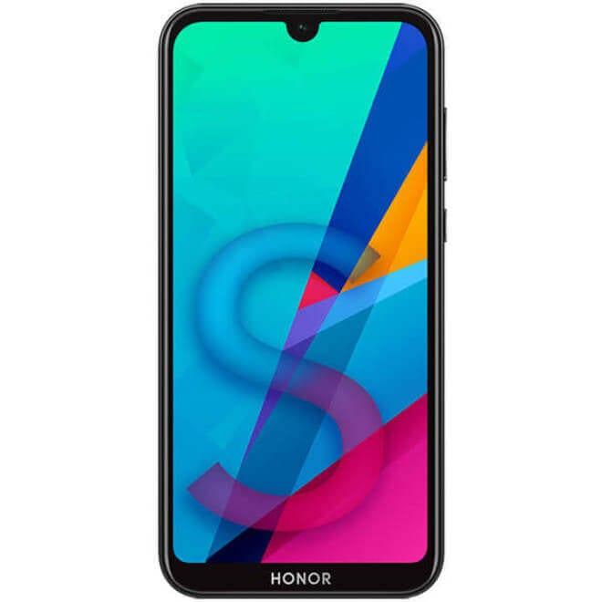 Honor 8S filtrado con doble texturizado trasero