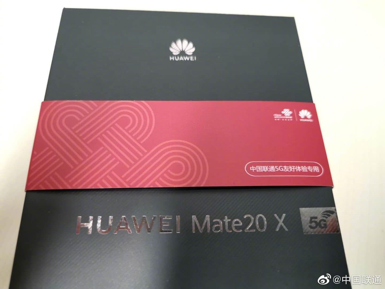Caja de venta del Huawei Mate 20 X 5G filtrada