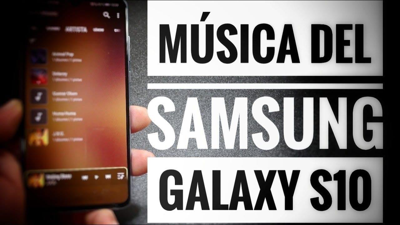 Espectacular!! Descarga e instala la aplicación de música del Samsung Galaxy S10 en cualquier Android