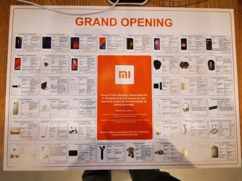Inauguración de la Mi Store de Xiaomi en Rumania
