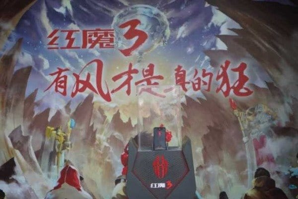 Nubia Red Magic 3 en evento gaming