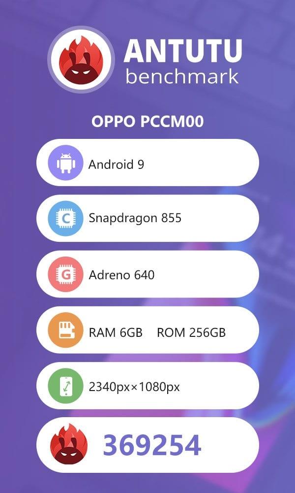 Oppo Reno 5G en AnTuTu
