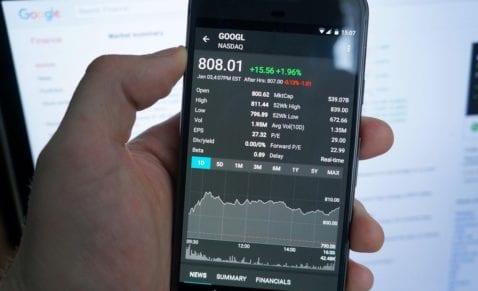 Android aplicaciones bolsa
