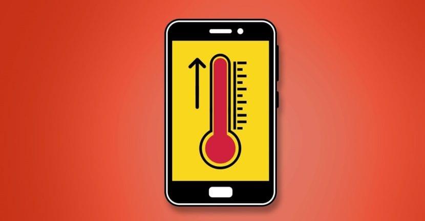Android sobrecalienta temperatura