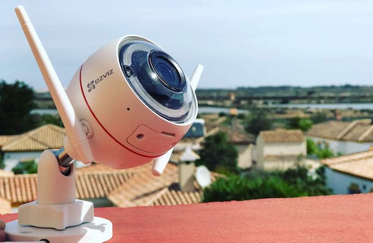Ezviz cámara outdoor