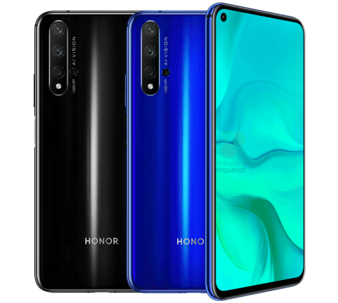 Render del Honor 20
