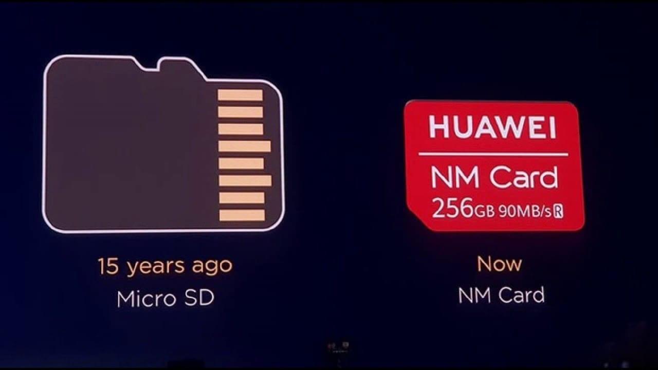 NM Card de Huawei