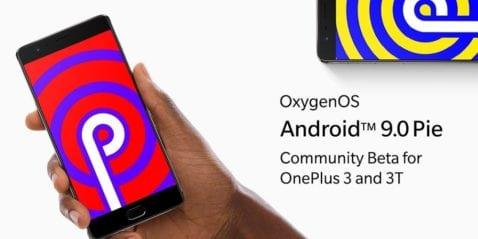 OnePlus 3 Android Pie