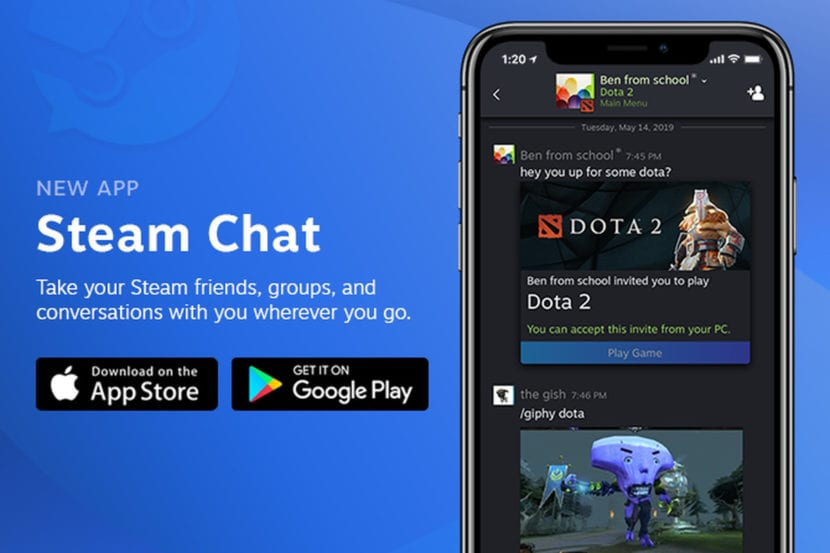 Steam Chat se lanza de manera oficial en Android e iOS