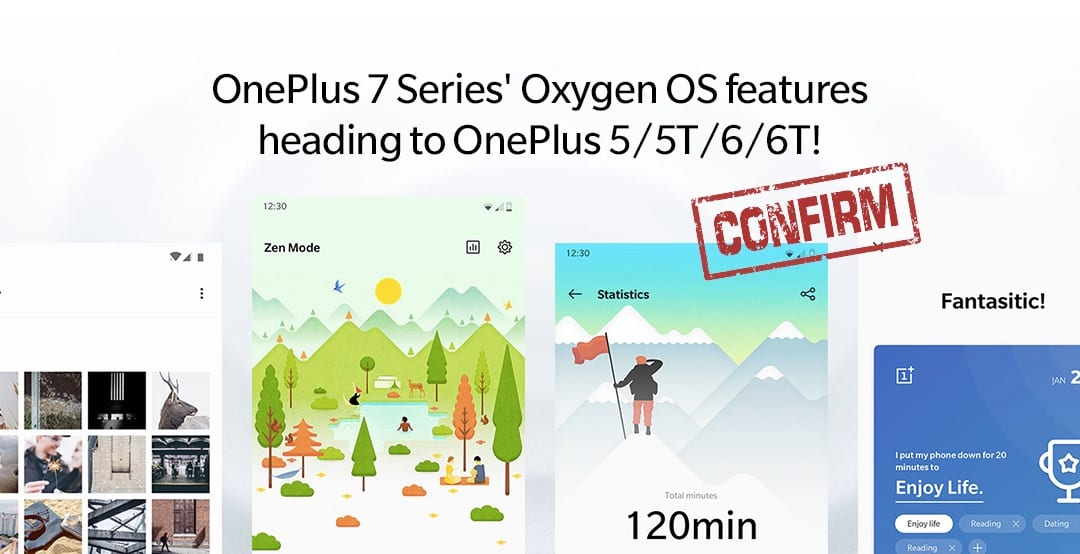Android Q OnePlus 5 5T