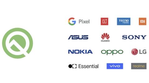 Smartphones compatibles con Android Q