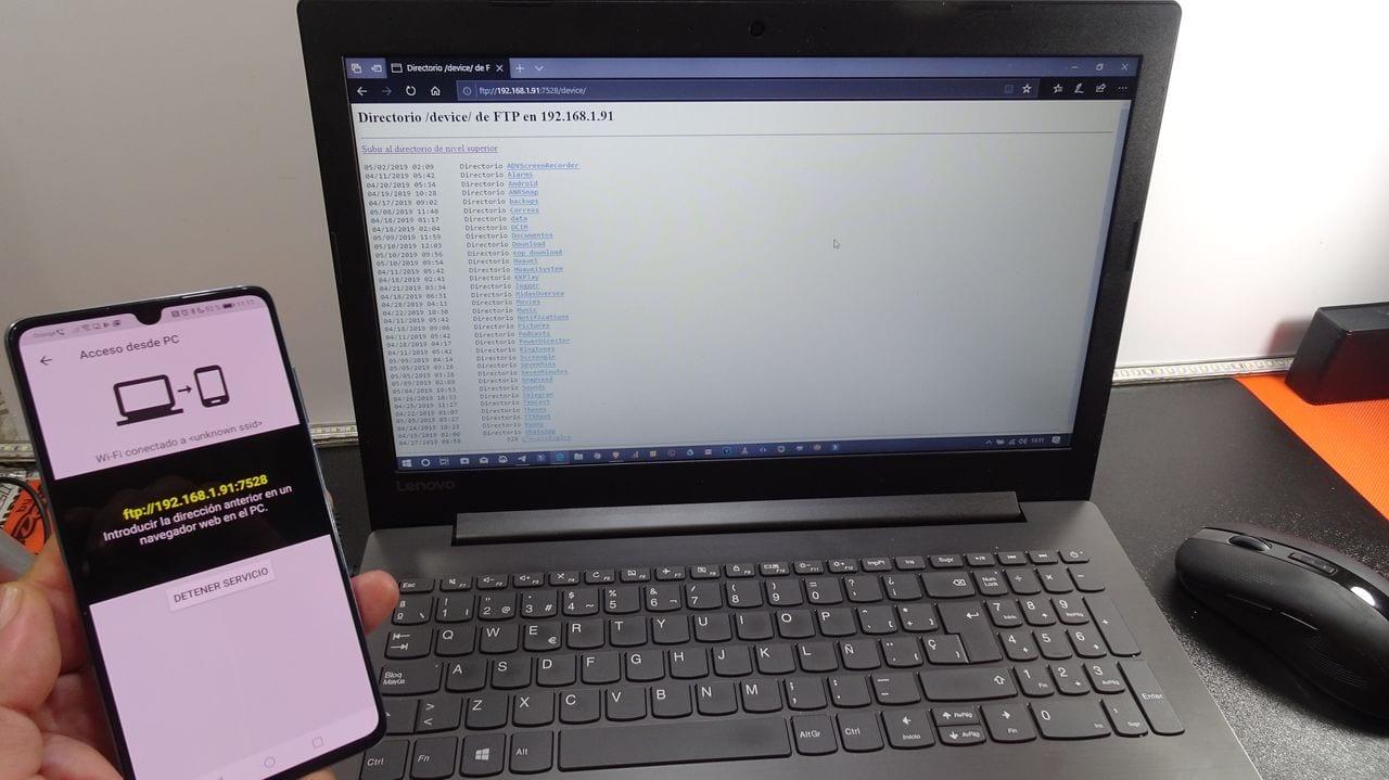 Cómo usar FTP para enviar archivos(datos) al ordenador