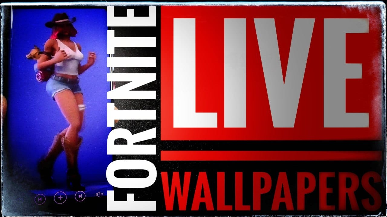 descargar gratis Live Wallpapers de bailes de Fortnite