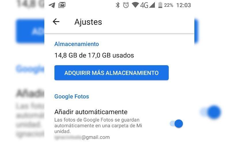 Google Fotos Google Drive