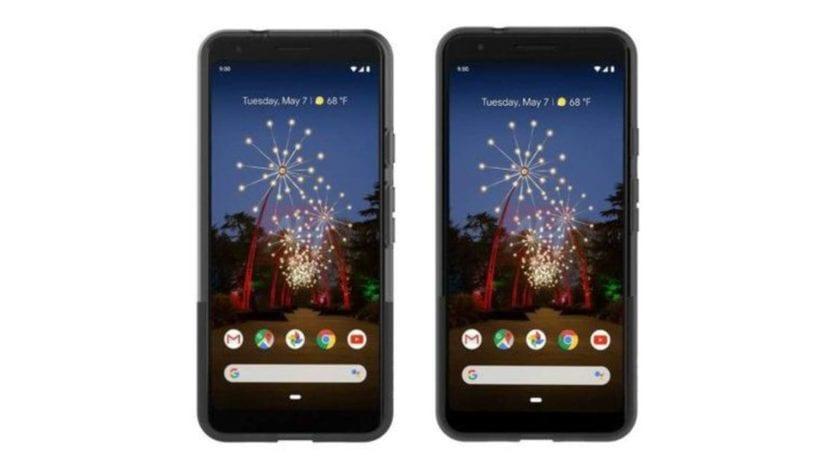 Render del Google Pixel 3a