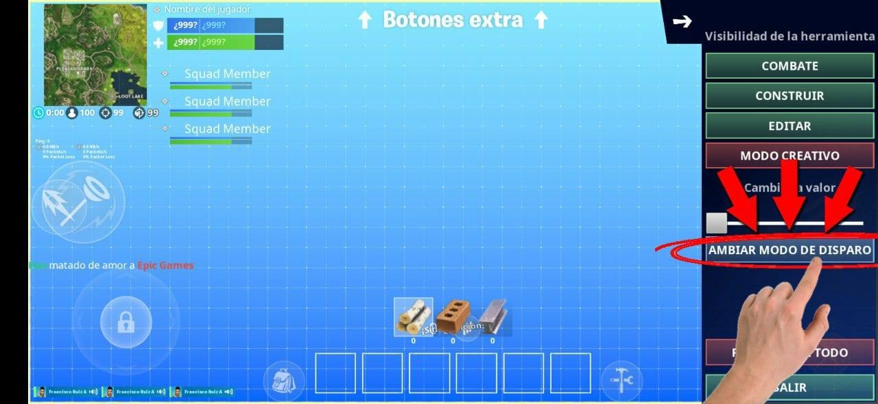 Cómo habilitar el modo disparo automático en Fortnite
