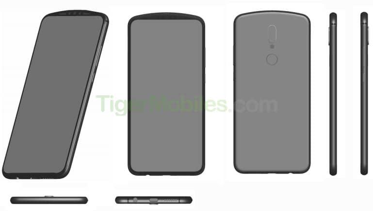 Patente de Huawei que evade la muesca en pantalla