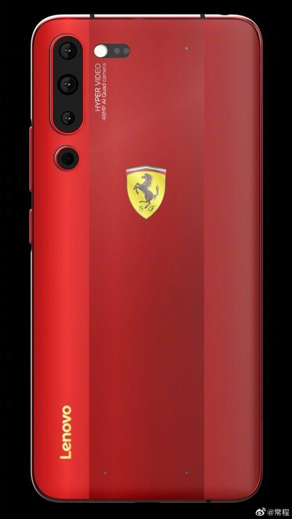 Lenovo Z6 Pro Ferrari™ Edition