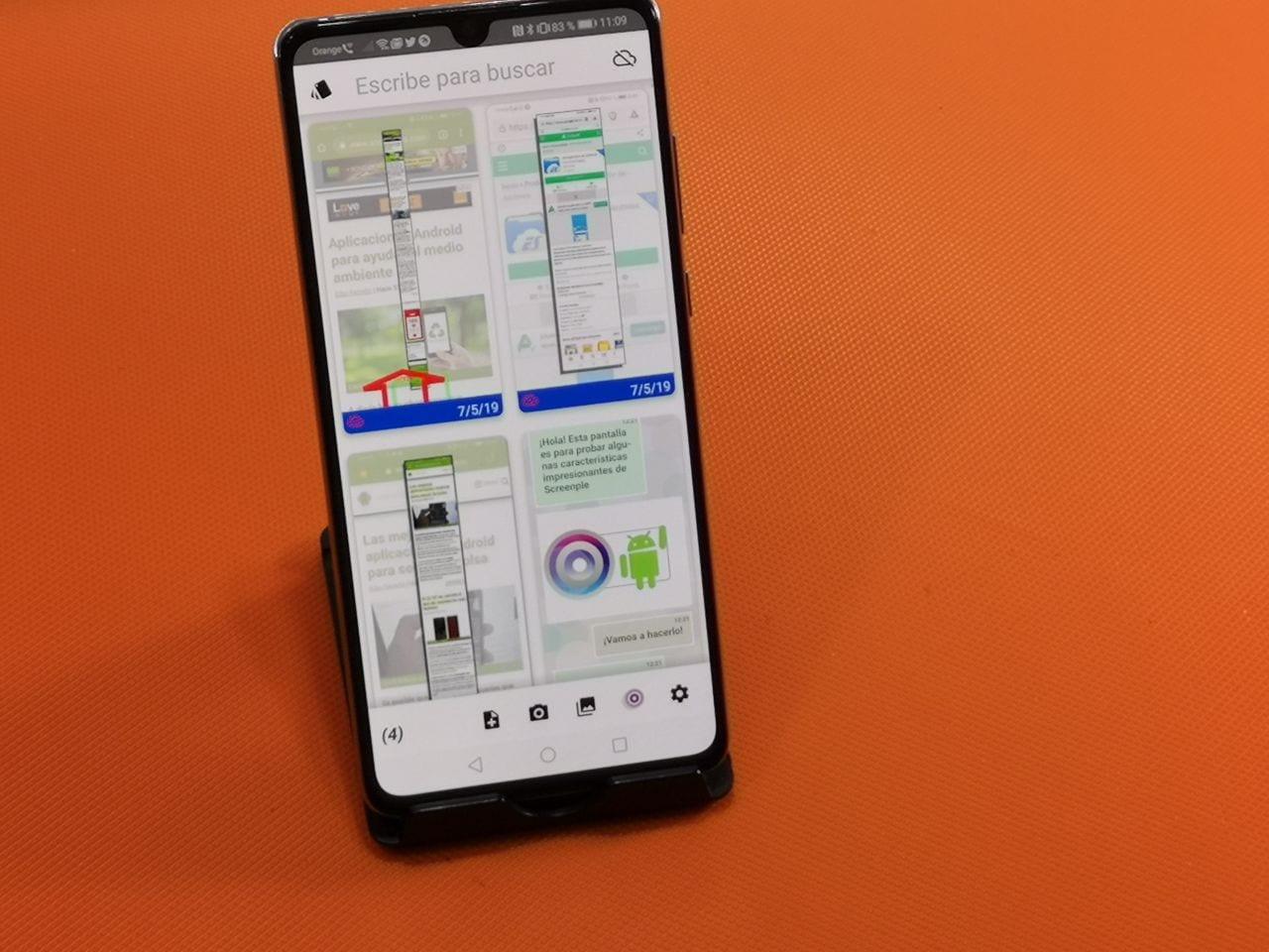 ¡¡Pedazo de APP para gestionar capturas de monitor en Android!!