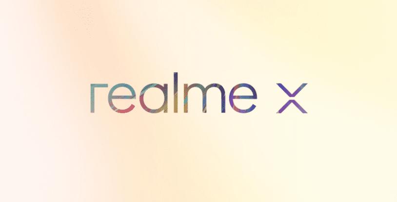 Logo del Realme X