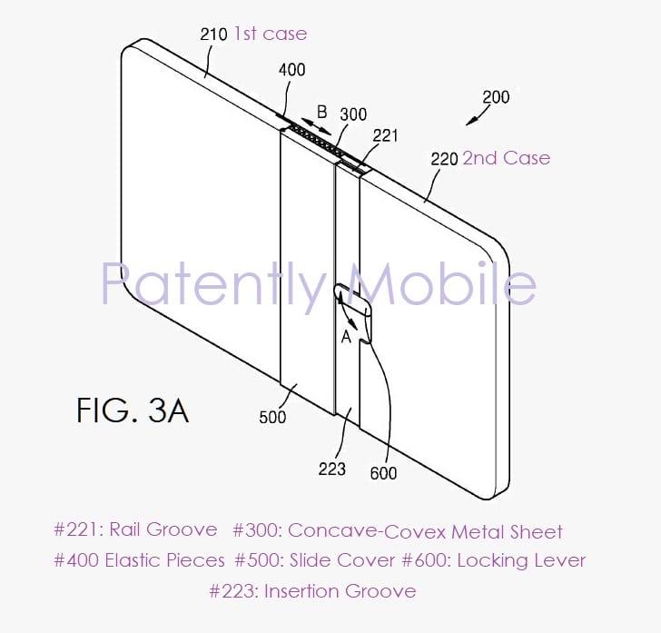 Nuevo smartphone plegable de Samsung
