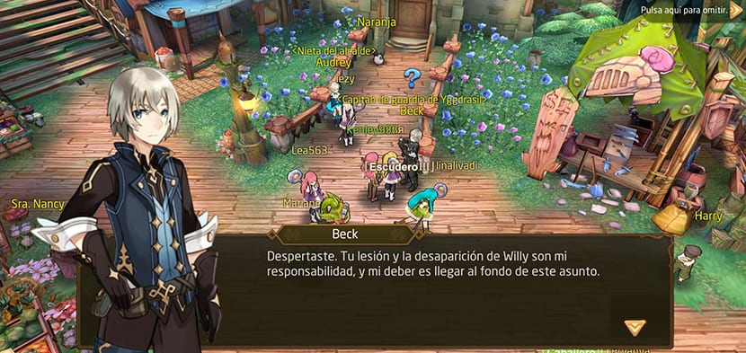 Tales of Wind en español