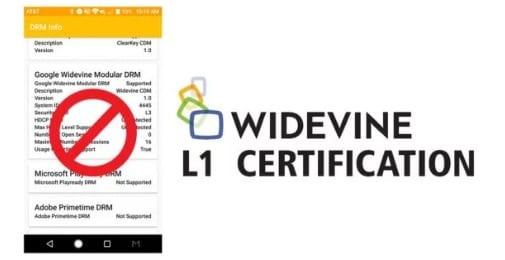 Certificación Widevine L1