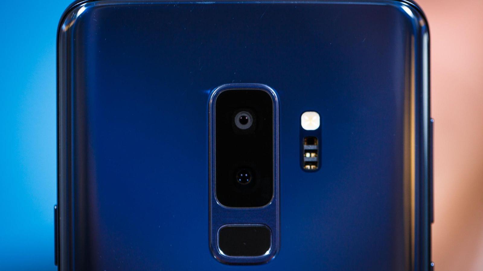 cámara del Samsung Galaxy S9