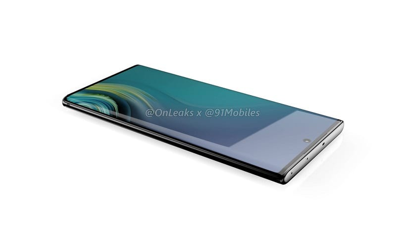 Samsung Galaxy Note 10 Renders