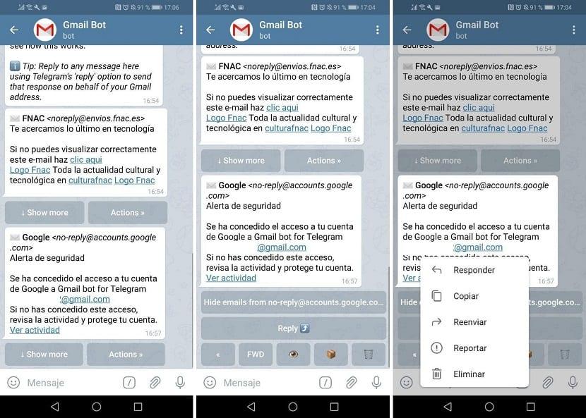 Gmail Bot Telegram