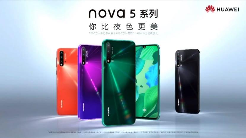 Huawei Nova 5 oficial