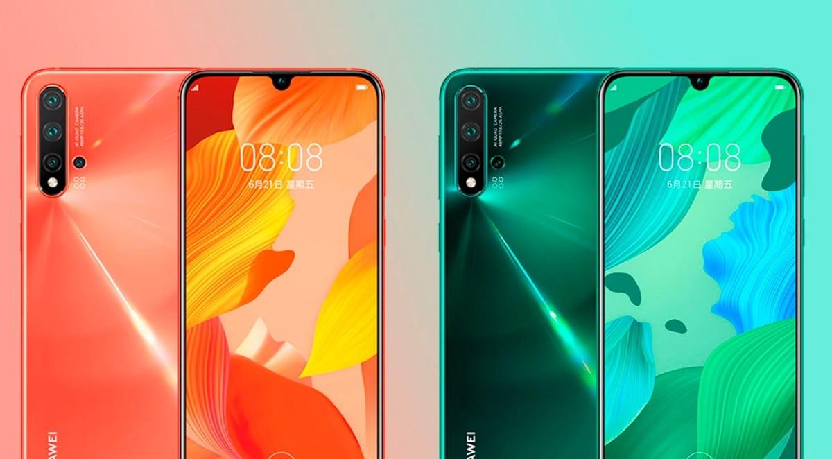 Huawei Nova 5 y Nova 5 Pro