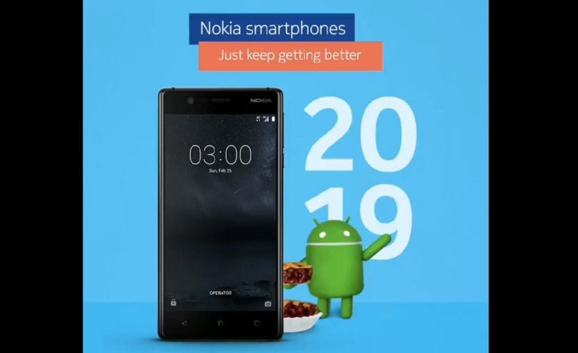 Nokia tres Android™ Pie