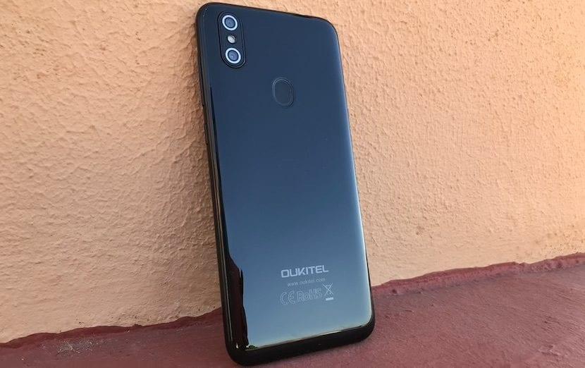 OUKITEL C15 Pro cámara