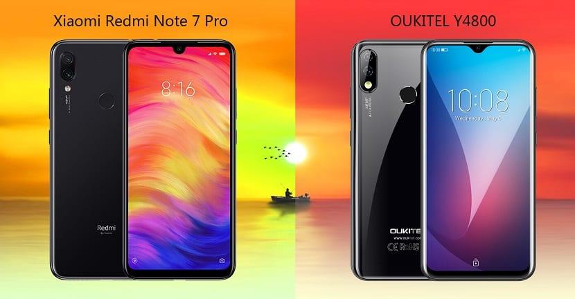 OUKITEL Y4800 VS Redmi Note 7 Pro