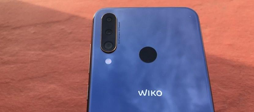 WIKO View 3 Pro lector de huellas