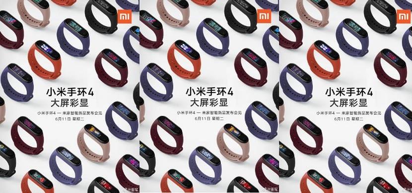 Xiaomi Mi Band 4 poster