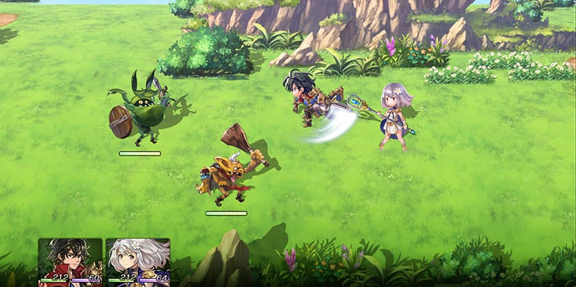 Combate en Another Eden