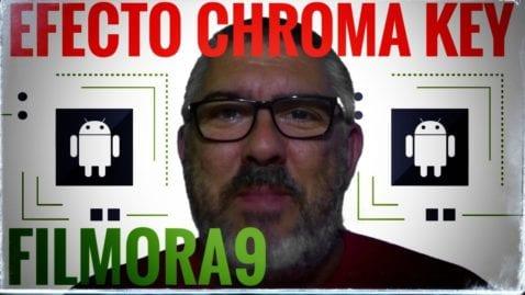 Efecto pantalla verde en Filmora9