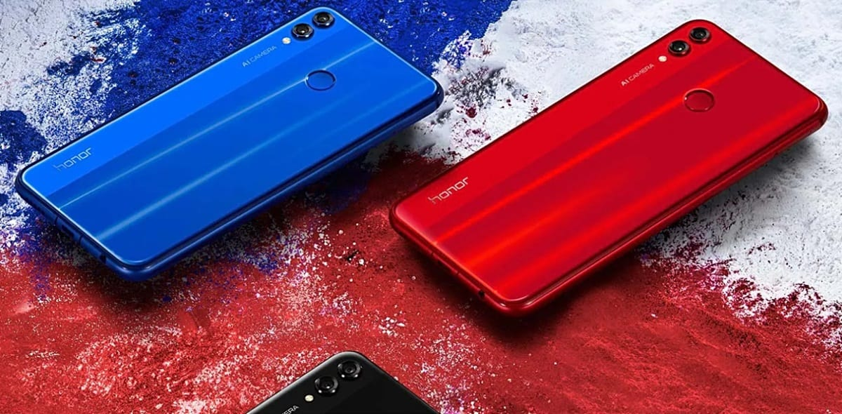 Honor 8X colores